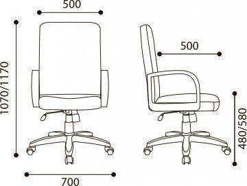 Кресло Менеджер стандарт - фото №2