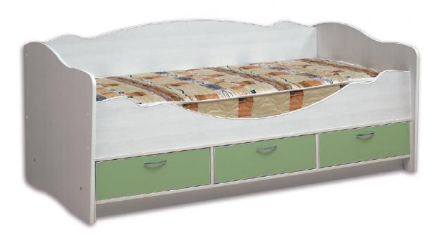 Кровать детская с ящиками Софа-3 «Алиса-1» - фото №1