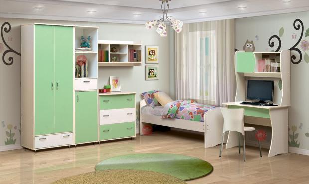 Набор мебели для детской Алиса-3 - фото №1