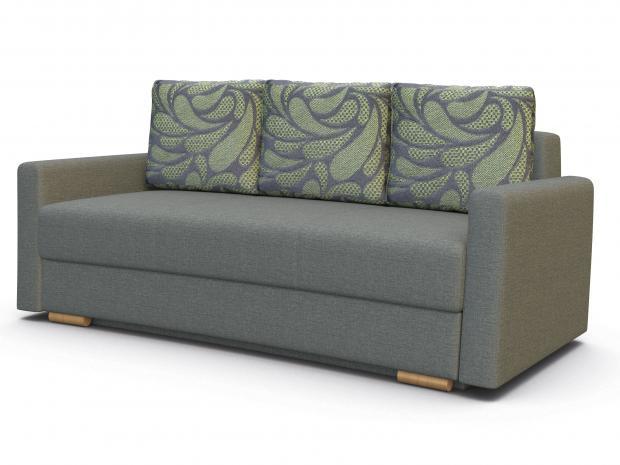 Диван-кровать «Лира» с боковинами 1400 (еврокнижка) - фото №1