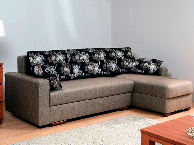 Угловой диван «Лира» с боковинами 1500 (еврокнижка) - фото №1
