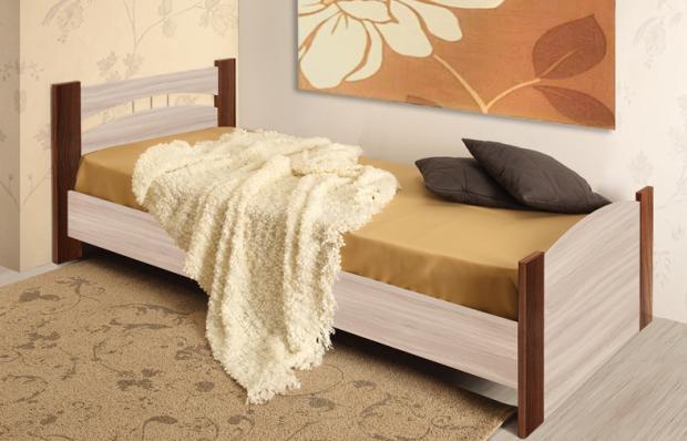 Кровать односпальная «Луна» 900 - фото №1