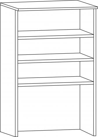 Шкаф-надстройка НП-60 - фото №2