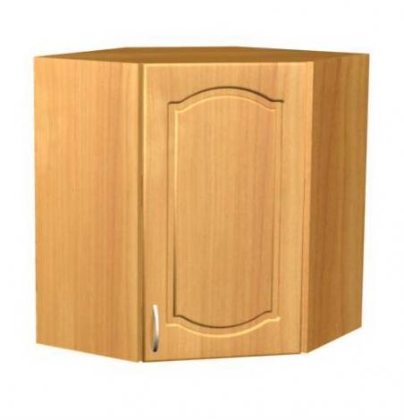 Шкаф однодверный угловой П 11 - фото №1