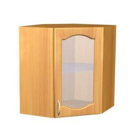 Шкаф навесной угловой для кухни П 12/1 - фото №1