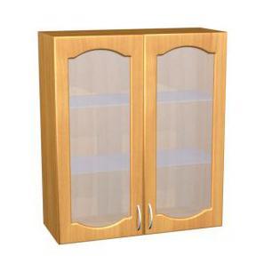 Шкаф навесной для кухни П 38/1 стекло матовое - фото №1