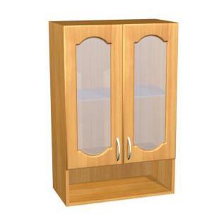 Шкаф навесной для кухни П 41/1 стекло матовое - фото №1