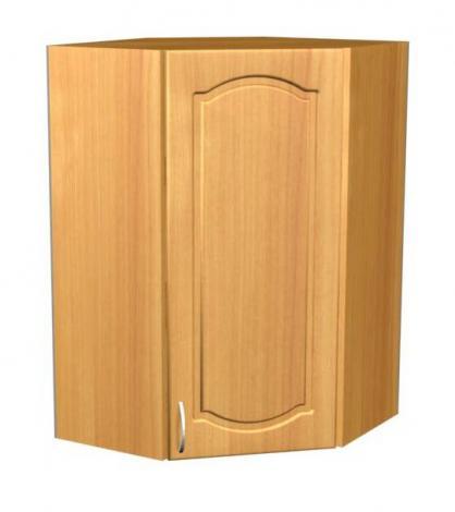 Шкаф навесной угловой для кухни П 44 - фото №1