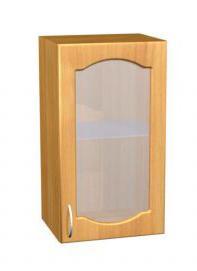 Шкаф навесной для кухни П 4/1 с матовым стеклом - фото №1