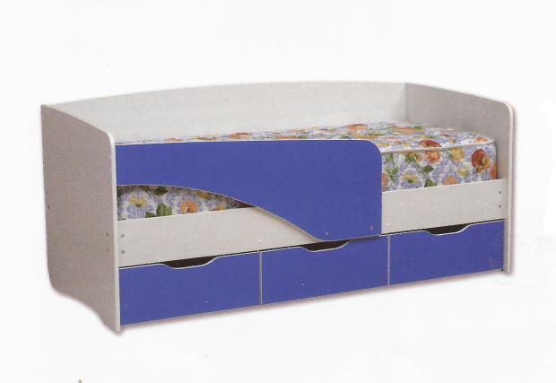 Кровать с ящиками Софа-4 «Алиса-2» - фото №2