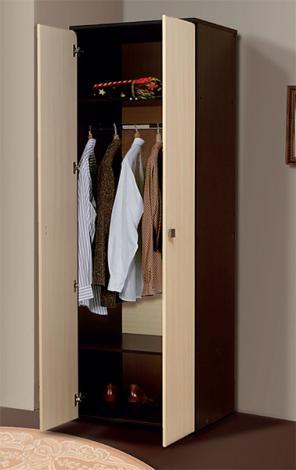 Шкаф 2-х дверный платяной Тандем Т/ШП2-700 - фото №2