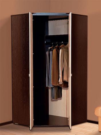 Шкаф 2-х дверный угловой Тандем - фото №2