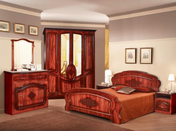 Набор мебели в спальню Нега-9 - фото №1