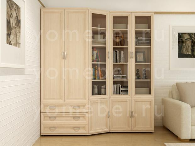 Мебельная стенка для гостиной М-Сервис 5 - фото №1