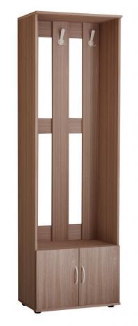 Шкаф - вешалка открытый с дверцами В-62л - фото №1