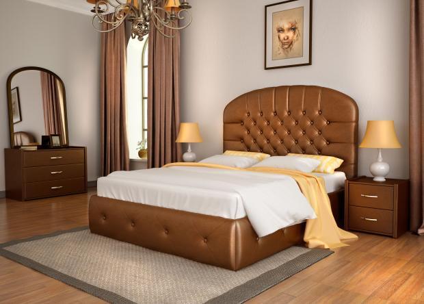 Кровать двуспальная «Венеция» - фото №1