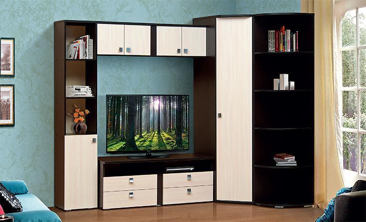 мебель для гостиной набор мебели тандем 1